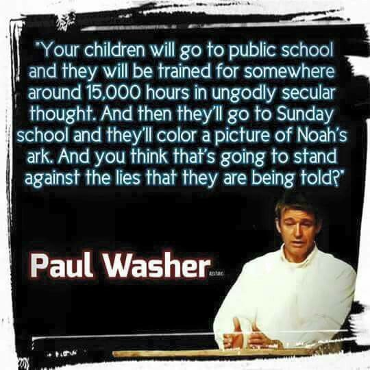 If Paul were alive today, would he go to sunday school?