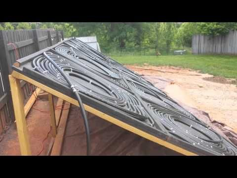 How to Make a Easy DIY Solar Pool Heater - YouTube