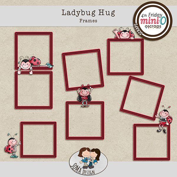 SoMa Design Ladybug Hug Frames