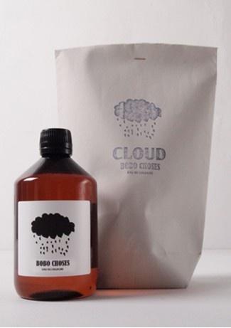Eau de cologne CLOUD: Clouds, Packaging Bottle, Packaging Design, De Colognebobo, Cologne Cloud, Choses 34, Water, Kid, Colognebobo Choses34