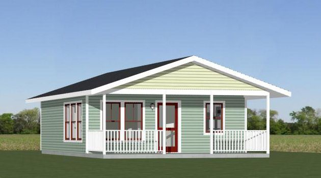 22x28 House 616 Sq Ft Pdf House Plans Garage Plans Shed Plans Small Lake Houses Building A Small House Small Shed Plans