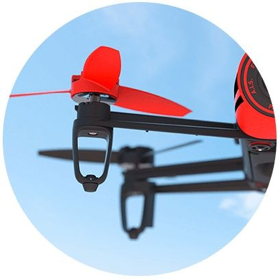 Parrot Bebop Dron Red