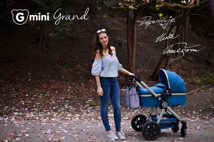 GMINI Kočár kombinovaný Grand Petrol-šedá | Kašpárek Baby