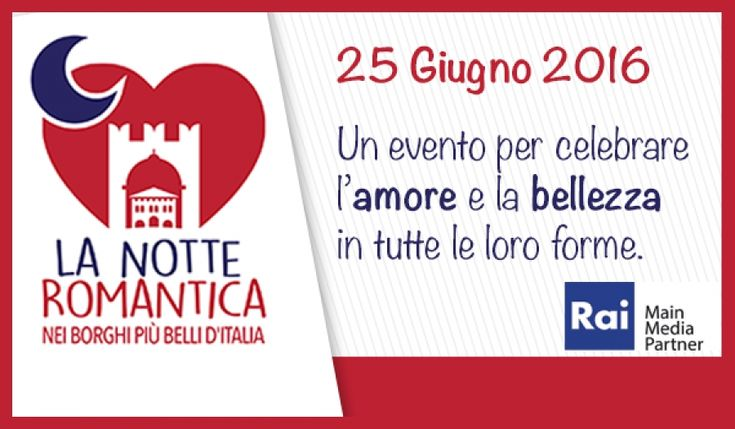 OFFIDA – Il 25 giugno nei Borghi più belli d'Italia si festeggerà l'arrivo del solstizio d'estate con la Notte Romantica.Per tutti gli innamorati sarà un appuntamento da non mancare, nelle …