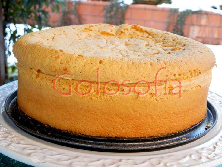 Pan di spagna-ricetta base-golosofia