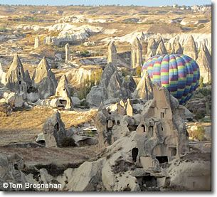 Hot Air Balloon, Cappadocia, Turkey < did this, it was awesome! You can pick the fresh apricots off the trees you get that close :)