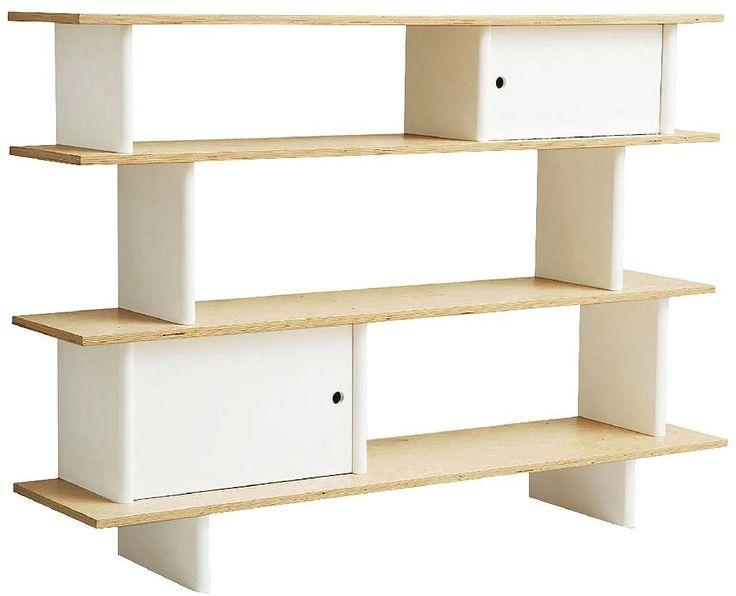 Oeuf Mini Library - Birch - Free Shipping