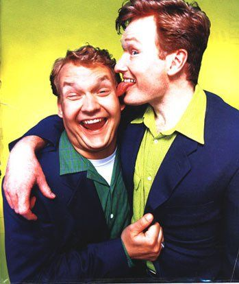 Conan and Andy! (I had this picture ripped out of a Rolling Stone hanging