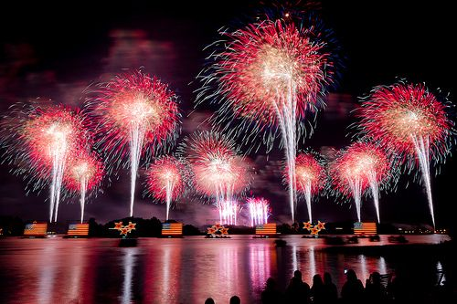 4th, july, indipendence, fireworks