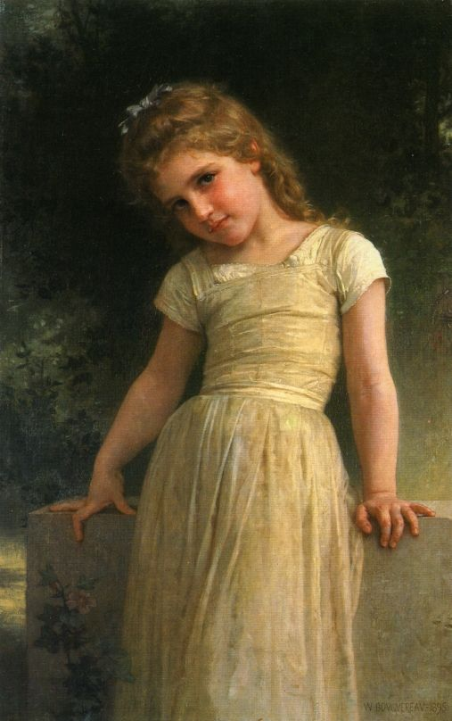 Elpieglerie - William-Adolphe Bouguereau