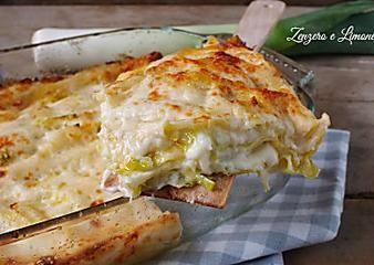 Lasagne ai porri e taleggio | ricetta semplice