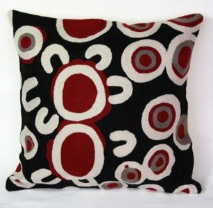 Indigenous Cushion Cover by Rama Sampson - Gallery Store