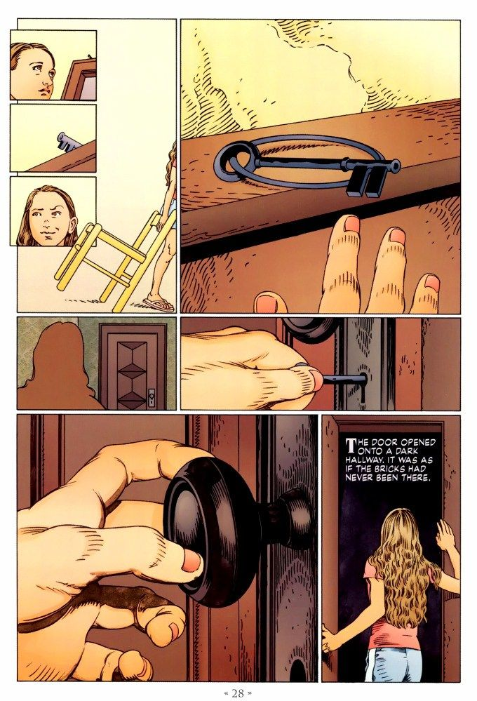 Page 28, Coraline graphic novel online