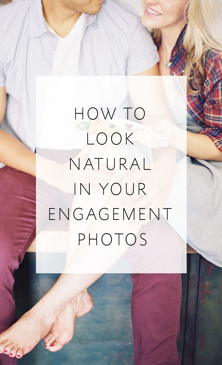Tips to help even camera-shy couples to look natural in their engagement photos