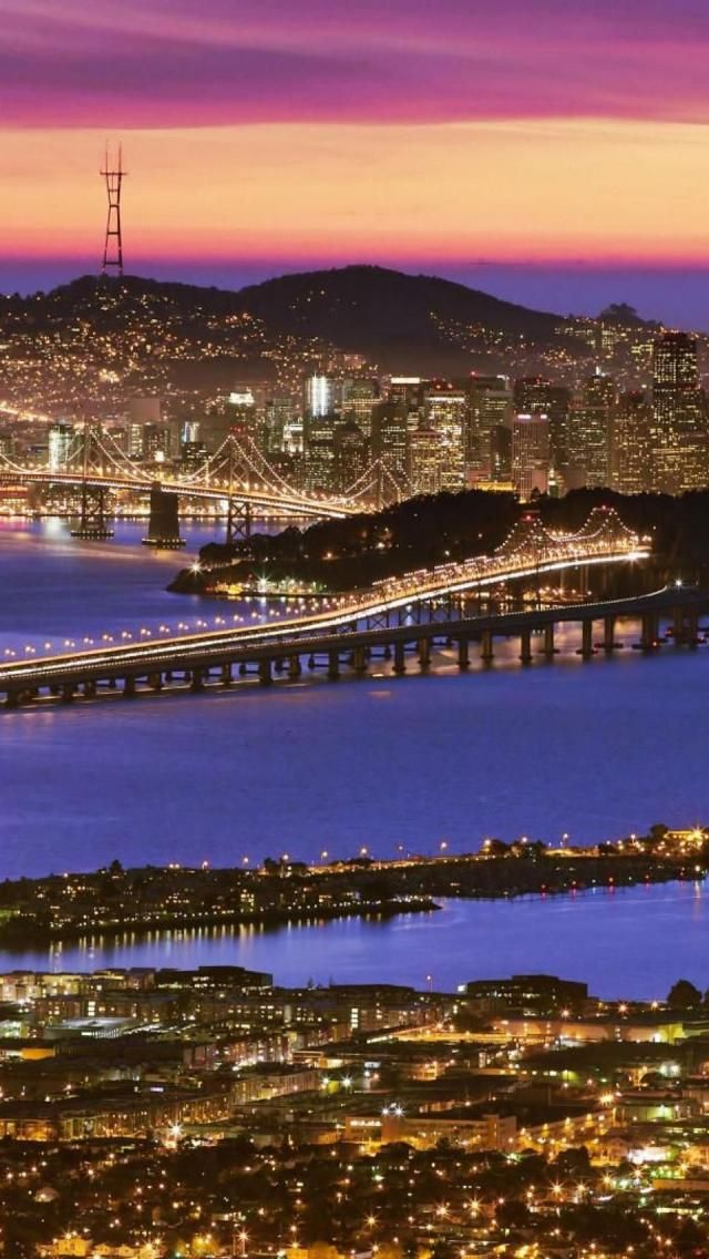 Dusk, San Francisco, California USA