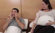 ექსპერიმენტი - მომავალი მამის რეაქცია, როდესაც ორსული ცოლის ამპლუას ირგებს