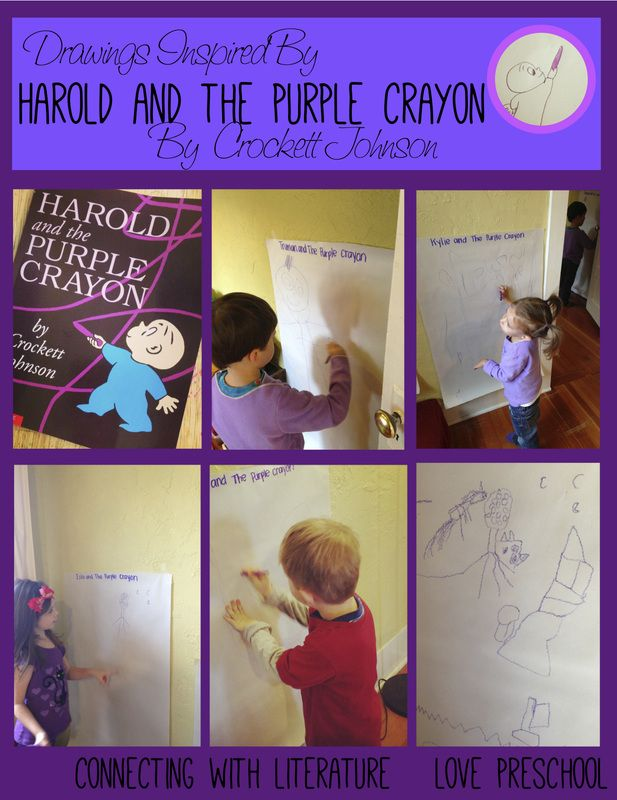 Activities from Harold and the Purple Crayon book