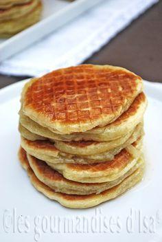 Les gourmandises d'Isa: GAUFRES À LA VANILLE DE LA MAISON MÉERT