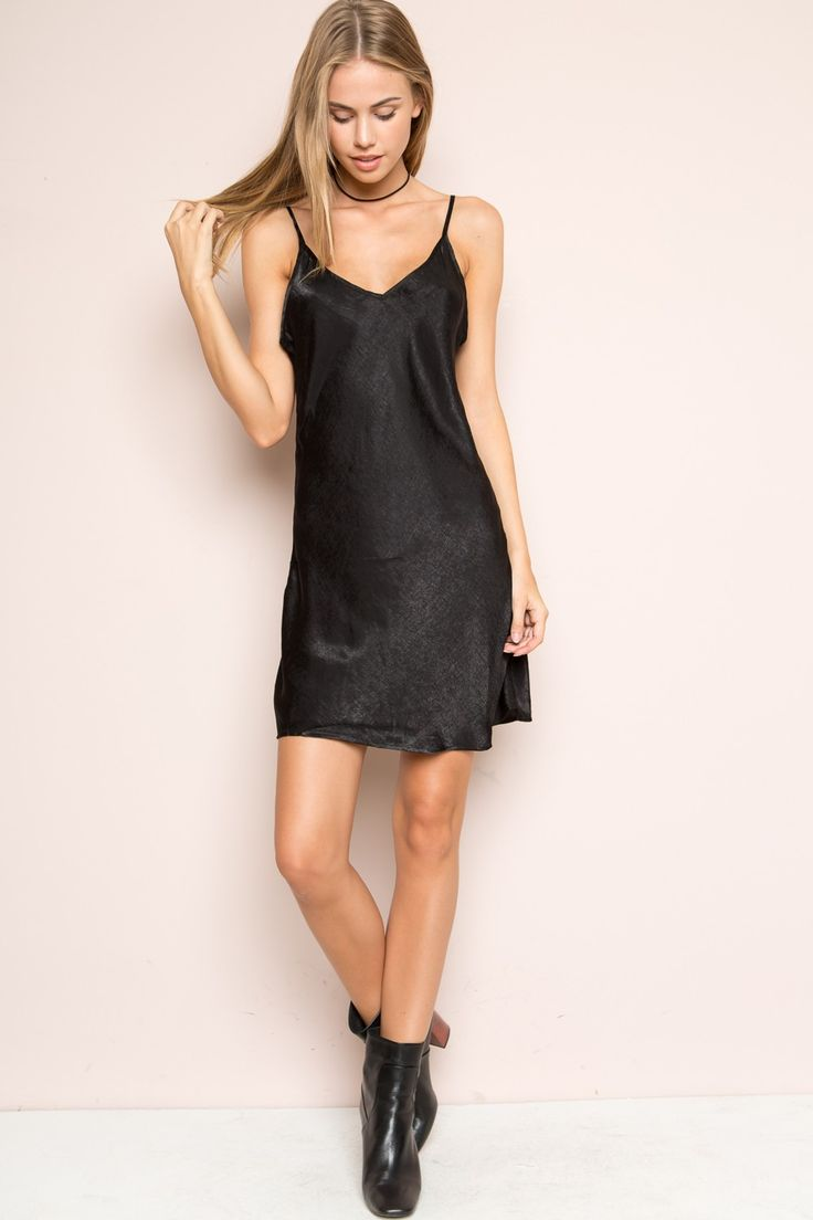 Black t shirt dress brandy melville - Brandy Melville Minnie Silky Dress Silk Velvet Pieces Clothing