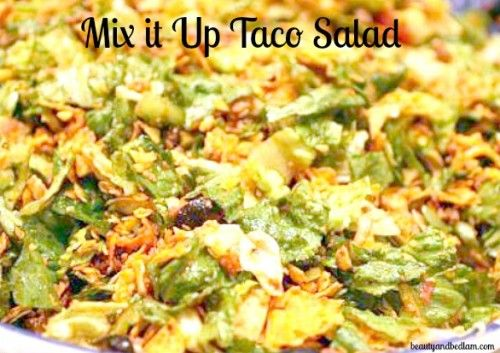 Taco Salad - Great Meal for Large Groups