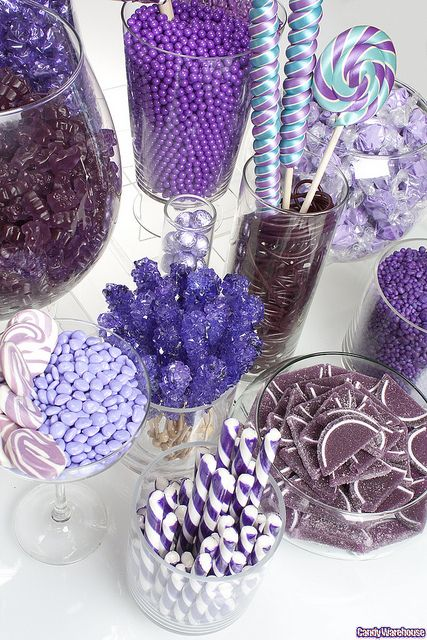 Purple Candy Buffet / las classes de Dulce's que se pueden usar.