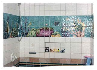 Tegelstickers - goed idee voor ons toilet en badkamer waar we nog ...