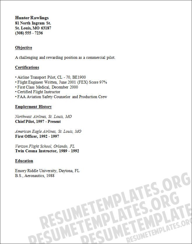 1000+ ιδέες για Cv Format Sample στο Pinterest Βιογραφικό - airline resume sample
