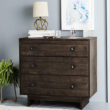 Emmerson™ Reclaimed Wood 3-Drawer Dresser - Chestnut #westelm