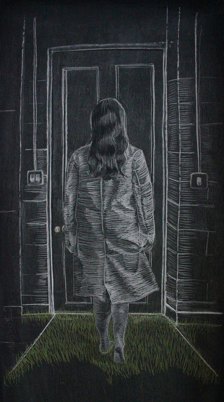 Chalk on Blackboard - Jane Locke