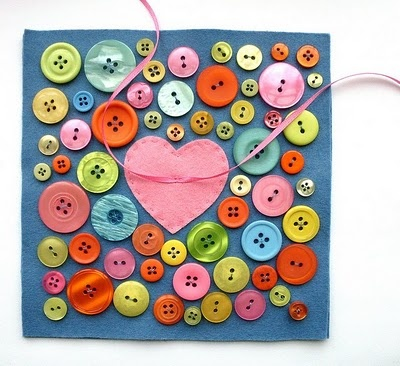 How To: Button Love Ring Pillow #diy #tutorial #sew #button