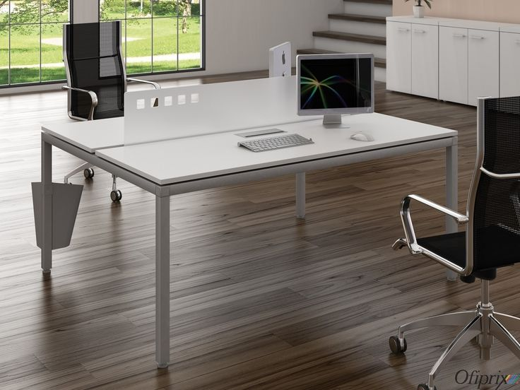Mesa de oficina air bench mesas de oficina pinterest for Mesas para oficina