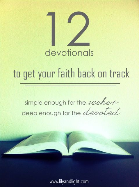 //Pin Now, Read Later// 12 Devotionals created for the everyday Christian woman.