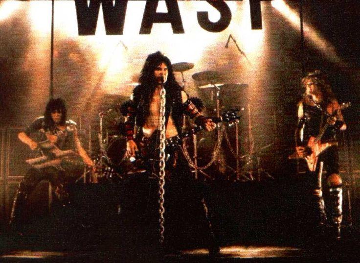 Wasp Band 84 180 Hard Amp Heavy Pinterest Band