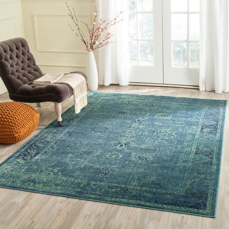 Shop Safavieh Vintage Oriental Turquoise Distressed Silky: 1000+ Ideas About Turquoise Rug On Pinterest