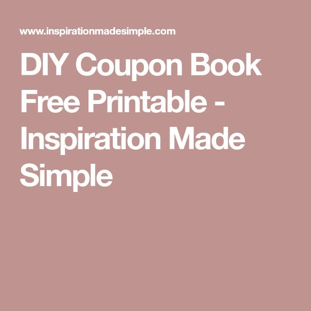 The 25+ best DIY coupon books ideas on Pinterest Love coupons - coupon templates free
