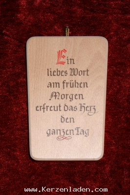 """Would LOVE this saying on some sort of craft in German """"A loving word early in the morning gladdens the heart all day."""""""