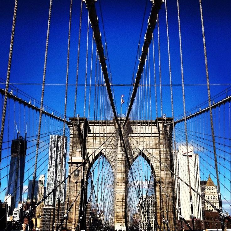 The Brooklyn Bridge by Malania Trump, Manhattan, Brooklyn, NYC, New York