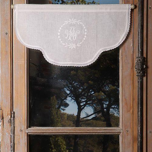 cantonnière les ateliers du lac - Escapades Champêtres linge de maison décoration