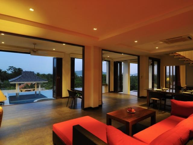 Villa Rainbow Dragon Living Room View | Venue Vault · PhuketVaulting ThailandExoticVillasDragonVacationsEntertainingRainbow