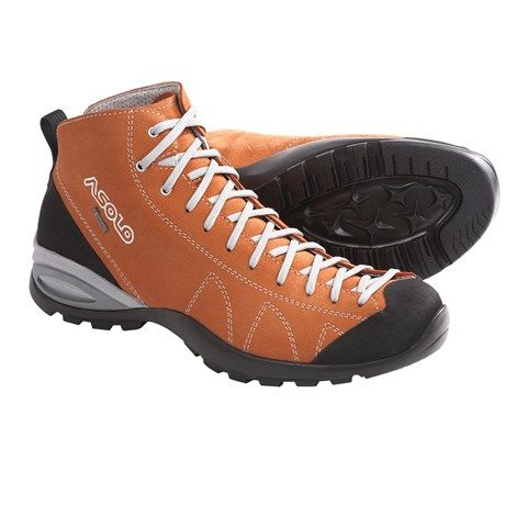Asolo Cactus Gore-Tex® Hiking Boots - Waterproof (For Men) in Carrot Yup...Carrot