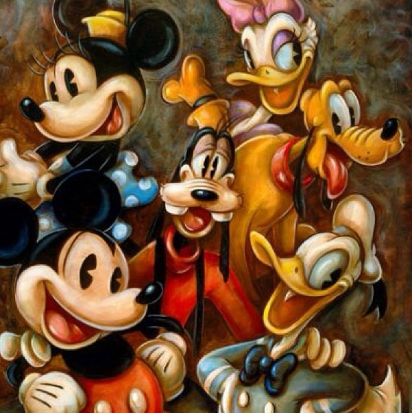 Mickey and friends!