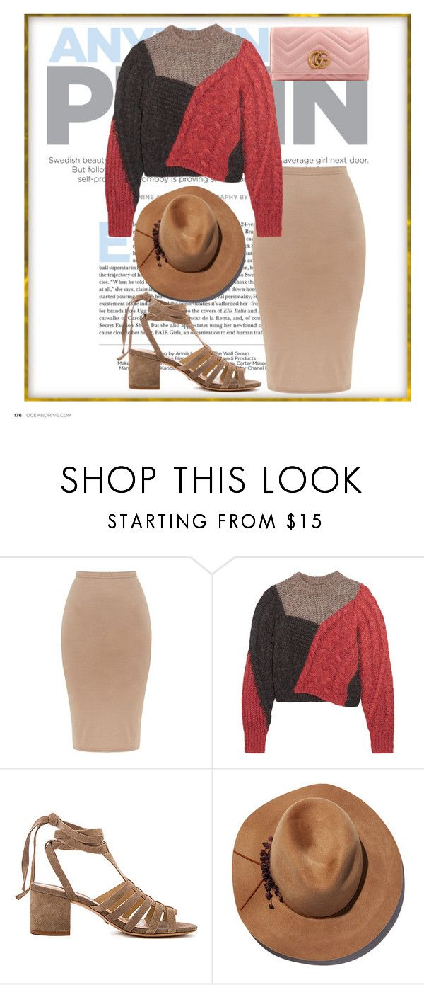"""Untitled #711"" by tate-mafa on Polyvore featuring Étoile Isabel Marant, Schutz, Eugenia Kim and Gucci"