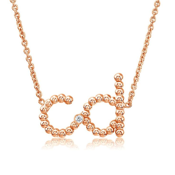 18 best images about initial necklace on Pinterest