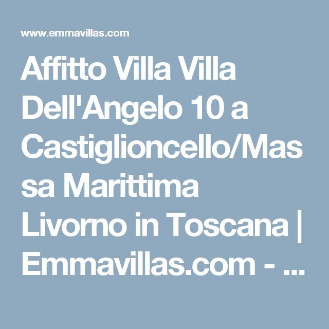 Affitto Villa Villa Dell'Angelo 10 a Castiglioncello/Massa Marittima Livorno in Toscana   Emmavillas.com - Profilo