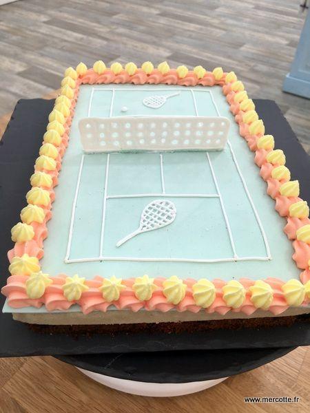» Le Tennis Cake  4e Épreuve Technique Le Meilleur Pâtissier Saison 5, accrochez-vous - La cuisine de Mercotte :: Macarons, Verrines, … et chocolat