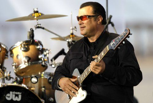 Steven Seagal Movies in Order | Steven Seagal headlines Russia Charity Concert