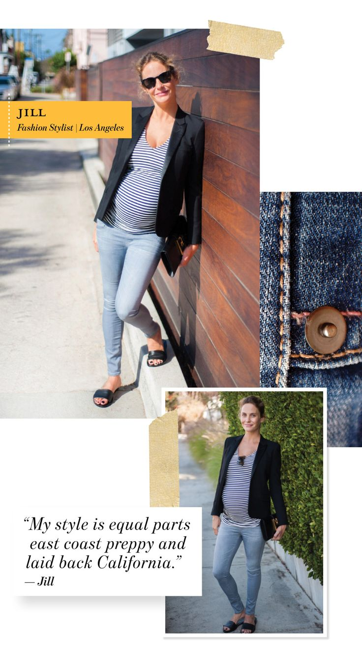 IRL: FASHION STYLIST JILL LINCOLN'S MATERNITY STYLE TIPS