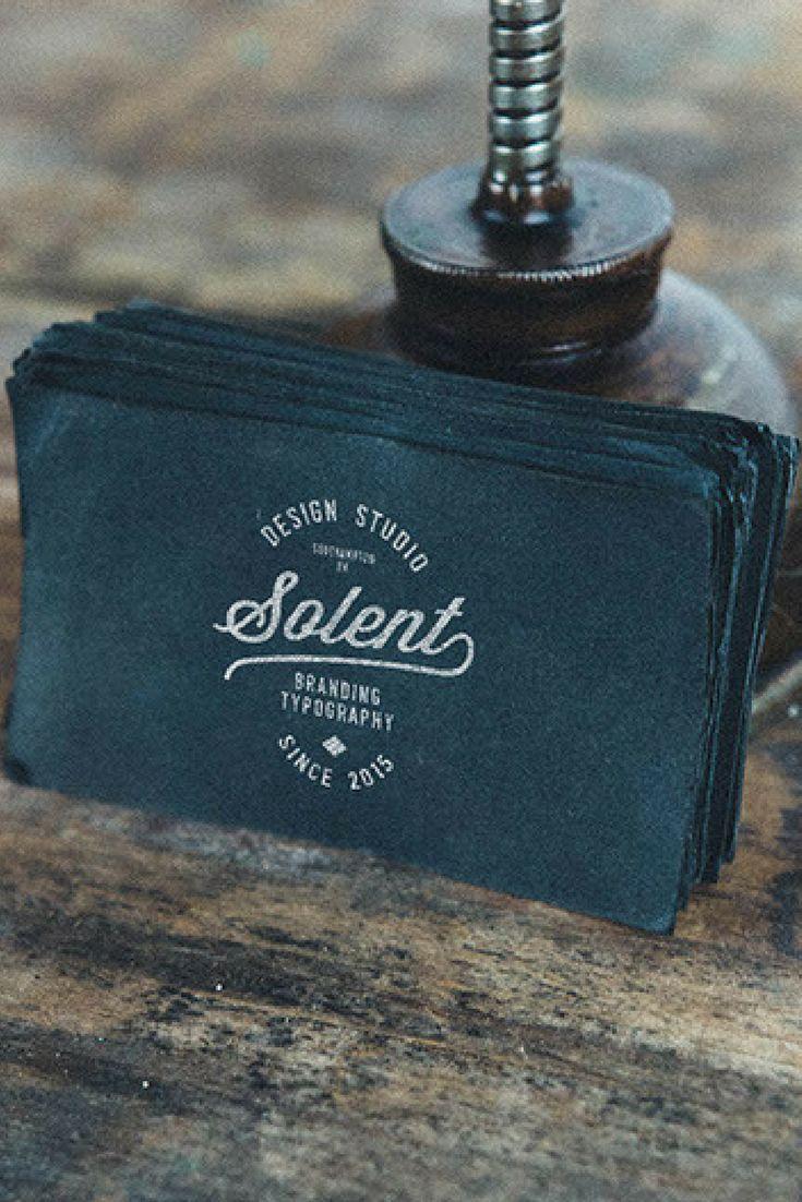 Brand identity - logo design for 'Solent design studio'.