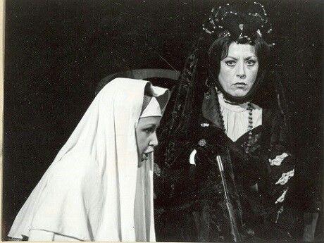 Puccini: Angelica nővér Kincses Veronika és Jablonkai Éva 1979. Budapest, Erkel színház