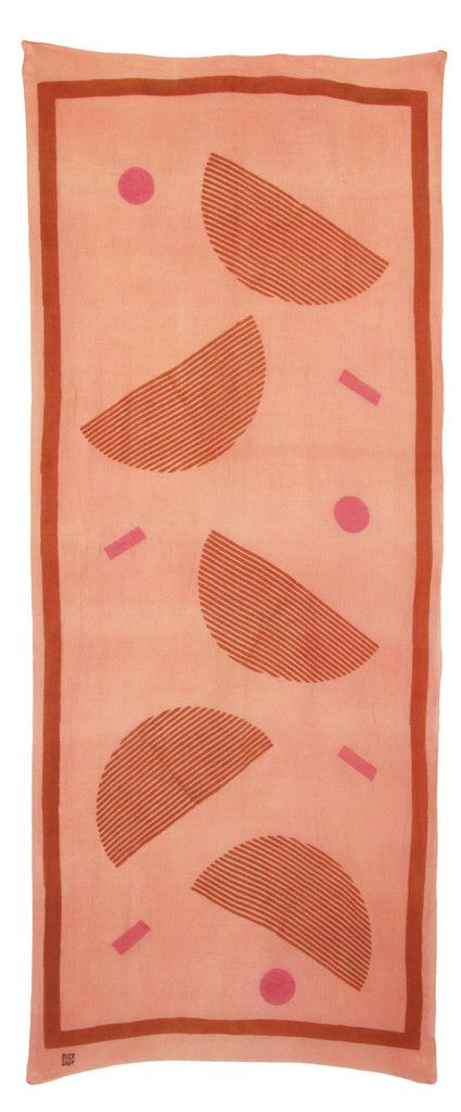 POKETO | PEONY scarf by Block Shop Textiles